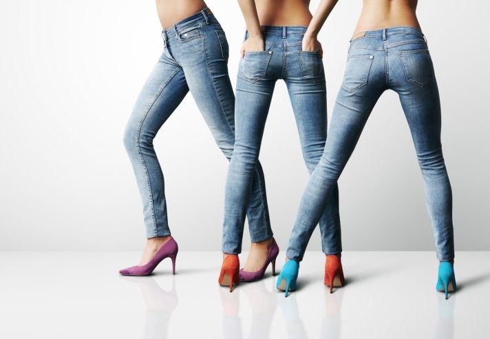 jeans sexy et moulant