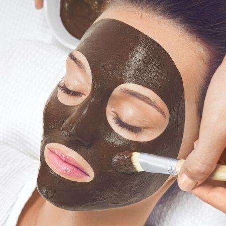 masque chocolat visage